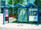 EVENT CLP Anlage mit 3 City-Light-Poster Vitrinen
