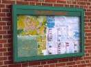 TREND 12.09 Wandschaukasten farbig